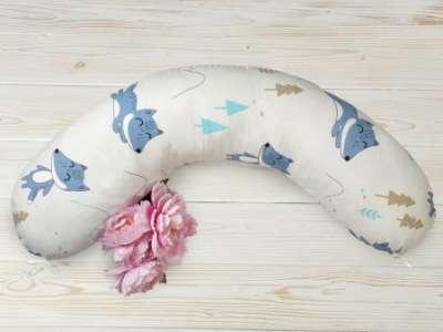 Практичная и комфортная подушка для беременных